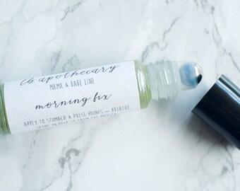 Morning Sickness Pregnancy Essential Oils / Pregnancy / Expecting Mom Gift / Holistic Nausea / Hospital Bag / New Mom / Morning Sickness