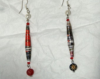 Japanese-style earrings