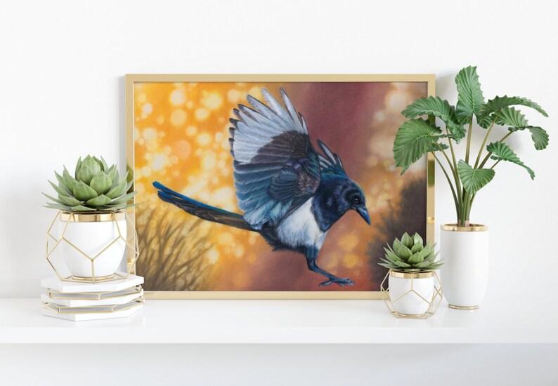 Giclée Art Print 'Dance'  A4 size colored pencil image 0