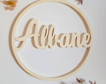 Wooden names for a single room!