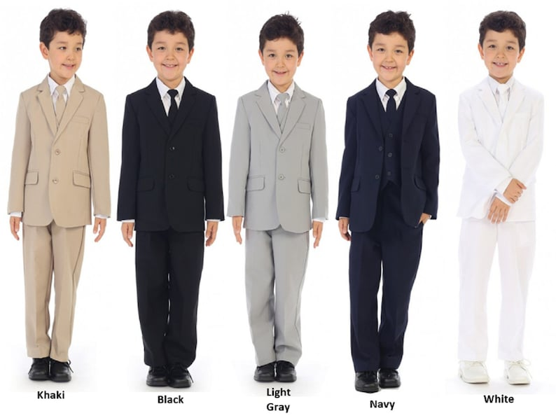 Boys Formal Wear  Toddlers Suit for Weddings image 0