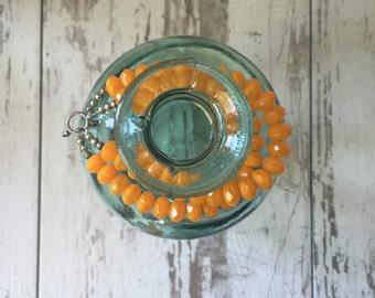 Vintage Crystal Double Strand Bracelet