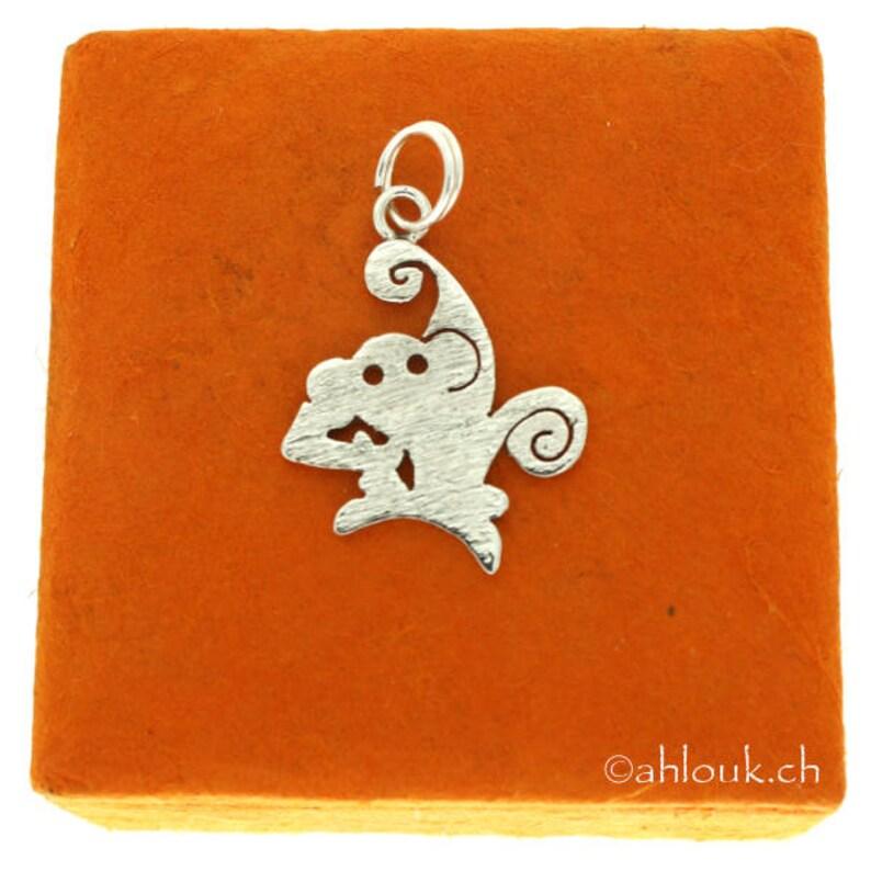 Animal Sterling Silver Pendant Charm