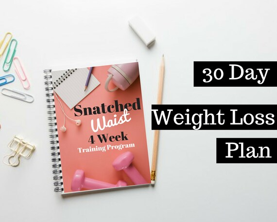 30 Day Weight Loss Plan Diet Workout Fitness