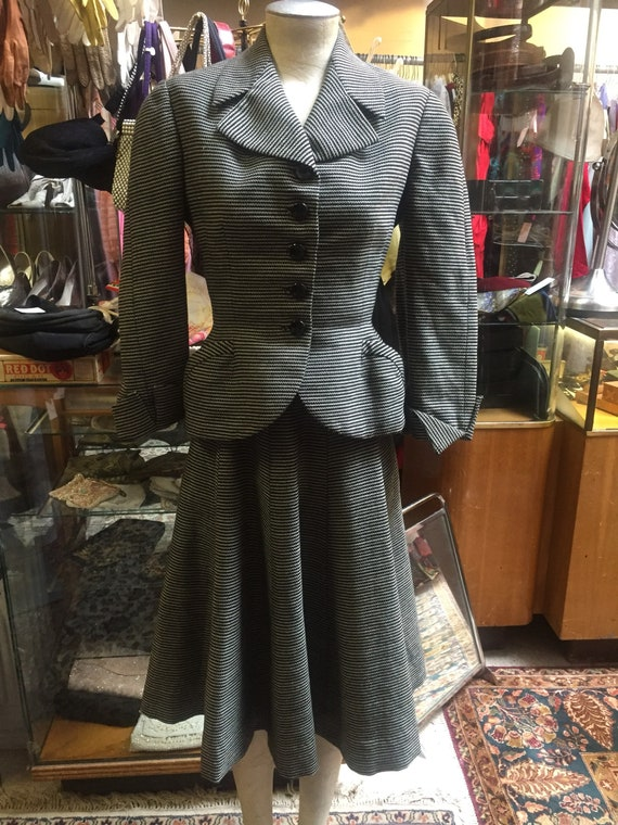 Wonderful Ben Zuckerman 1940s Vintage Suit