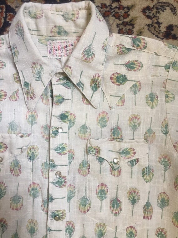 1970s vintage era Rockmount western shirt