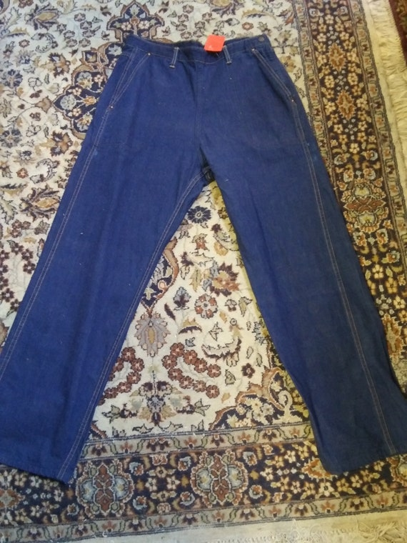 1950s Side-zip Women's Jeans in Glorious Condition
