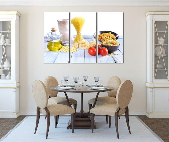 Restaurant Wall Art Kitchen Decor Decoration Etsy