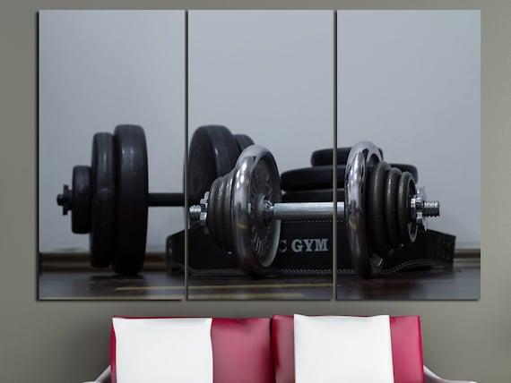 Gym Wall Art Fitness Motivation Workout Crossfit Decor Print