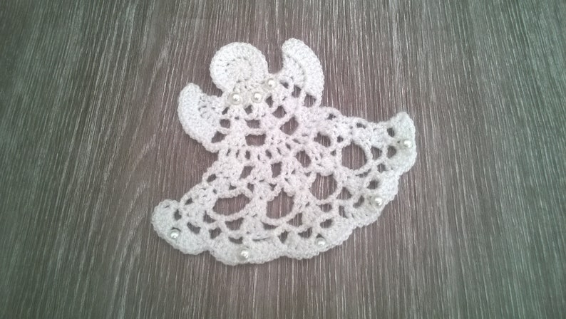 Angel Crochet Pattern Crochet Angel Ornament Etsy