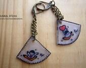 """Earrings """"My love&qu..."""
