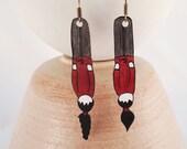 """Earrings """"Woman&quot..."""