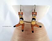 """Earrings """"Flight&quo..."""
