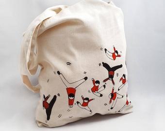 Bag top customized Bag gibberish emi - off-white/red/black
