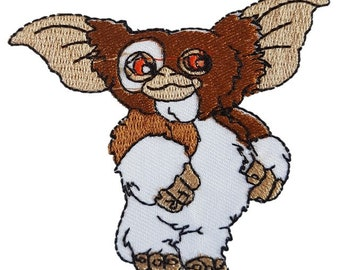 Gizmo The gremlins Iron on Patch Sew oN Embroidered Transfer Brand New abc4ef225d9a5