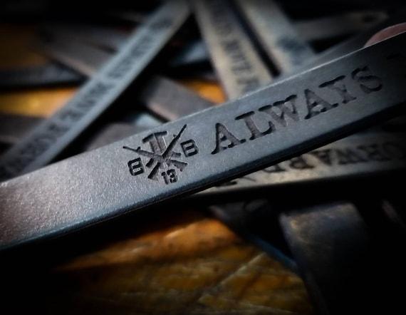 Beyond The Battlefield Leather Bracelet