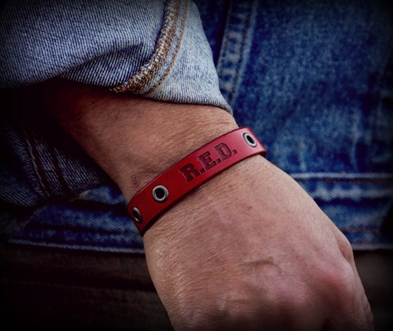 Ryan Weaver/Nine Line Remember Everyone Deployed Leather Bracelet