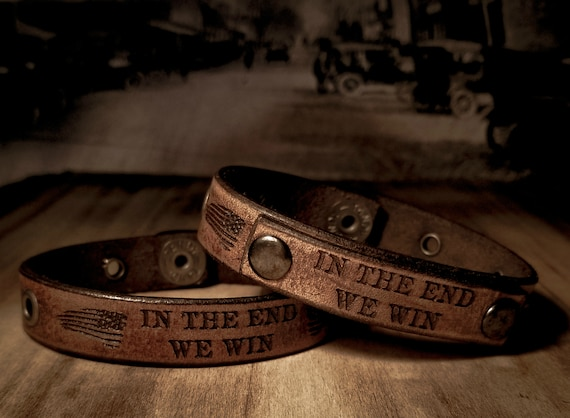 Official Brandon Tatum Vintage Leather Bracelet