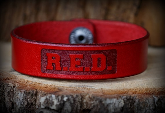 Ryan Weaver Professional Bull Riders R.E.D. Leather Strap