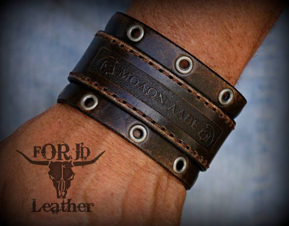 Personalized Leather Bracelet,  Women's Leather Bracelet,  Men's  Leather Bracelet,  Leather Cuff Bracelet