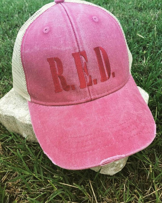 Remember Everyone Deployed Distressed Hat