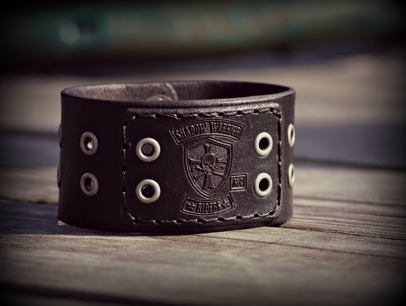 Shadow Warrior Riders Leather Cuff