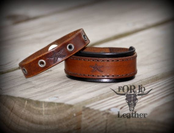 Modere Starfish Leather Double Cuff