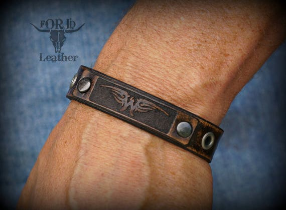 Vintage Ryan Weaver Leather Strap