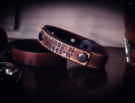 Leather Bracelet,  Coordinate Bracelet, Mens bracelet, Womens Bracelet