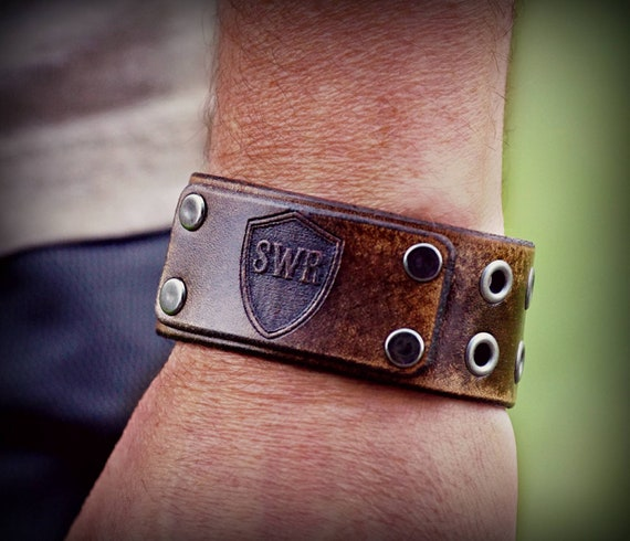 Official Shadow Warrior Riders Leather Cuff.