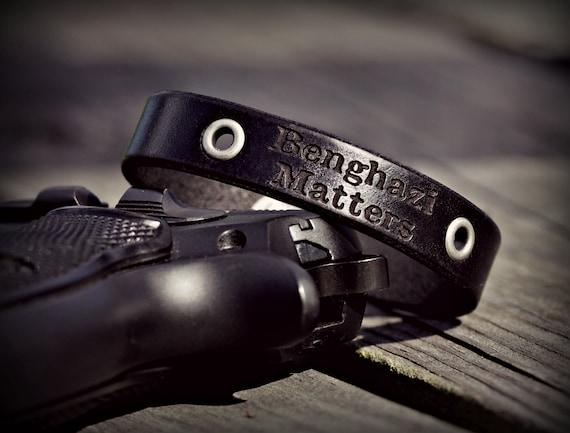Benghazi Matters Memorial Bracelet
