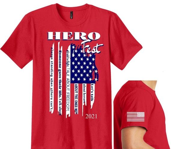 Hero Fest 2021 R.E.D. Shirt
