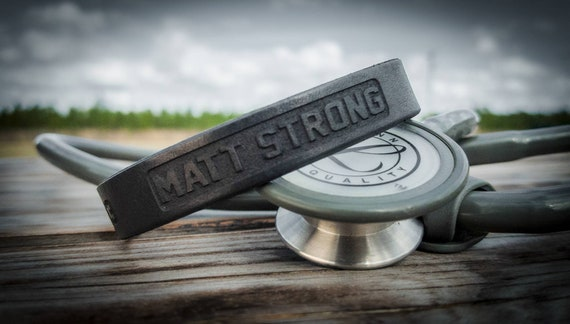 Matt Rogers Strong  Leather Bracelet.