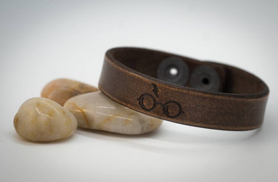 Harry Potter Bracelet, Leather Bracelet