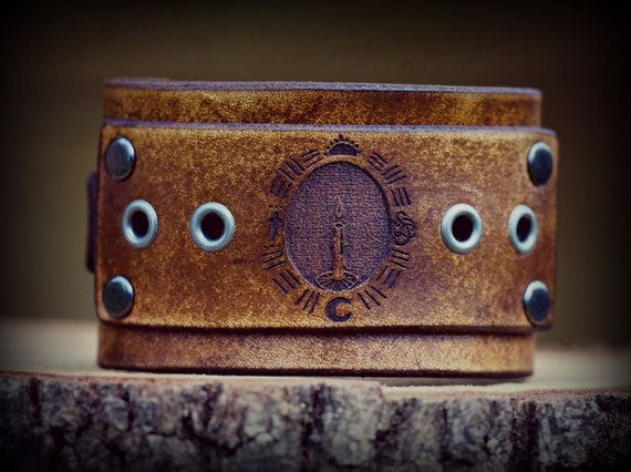 Adjustable Leather Cuff,  Women's Leather Cuff, Men's Leather Cuff. Women's Bracelet,  Men's Bracelet