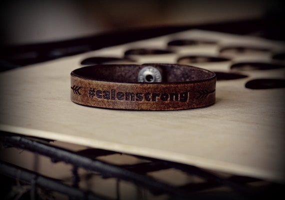 Calen Strong Leather Strap.