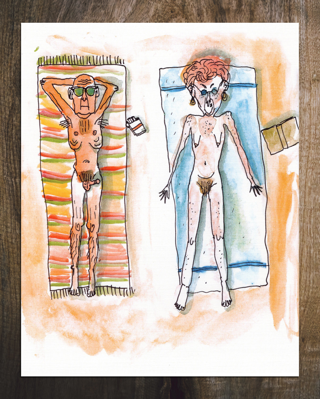 Nudisten granny Nudist XXX