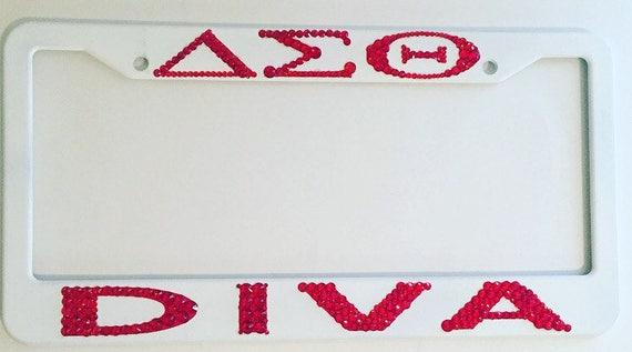 Delta Sigma Theta Tag Frame | Etsy
