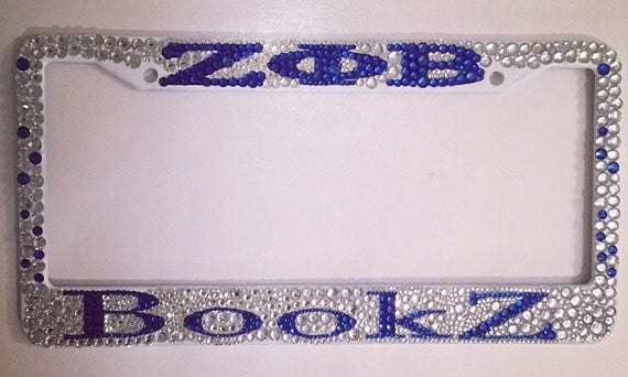Personalized Zeta Phi Beta Tag Frame | Etsy