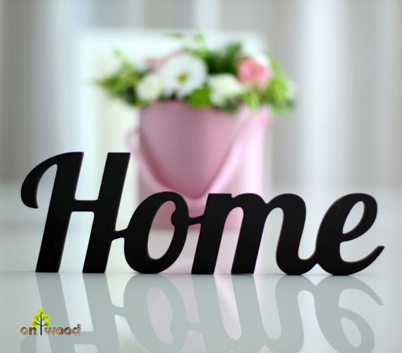 Home Sign Letters Decor Wall Wedding Gift