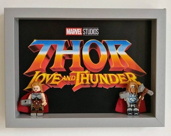 Thor Love and Thunder, Fan Art Mini Figure Frame