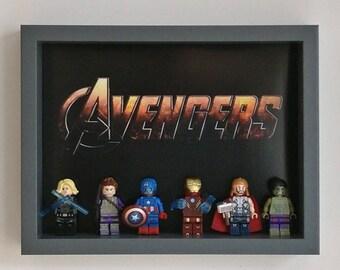 Avengers Assemble, Fan Art Mini Figure Frame