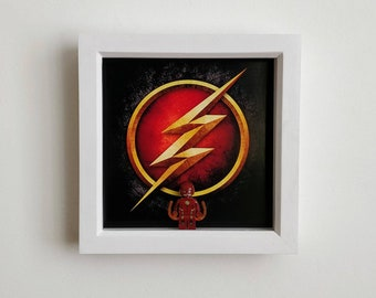 The Flash, Fan Art Figure Frame