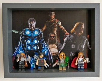 Versions of Thor, Fan Art Mini Figure Frame