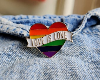 Love is Love Pin/Badge