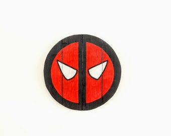 DeadPool Wooden Wall Art Hanging - Birthday, Christmas Gift/Present