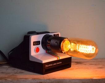 Vintage RARE Polaroid Land Camera Lamp