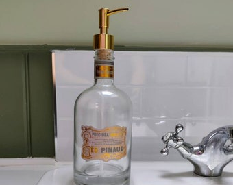French Pinaud Golden Soap Dispenser