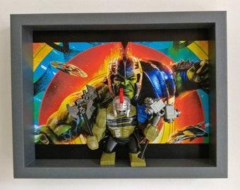 Ragnarok Hulk, Fan Art Mini Figure Frame