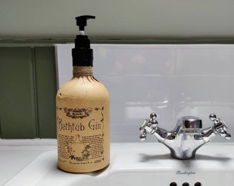 Bathtub Gin Soap Dispenser